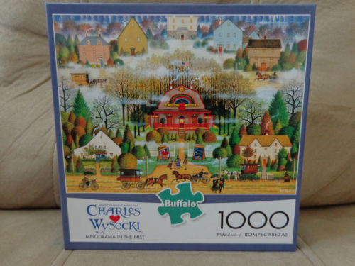 Charles Wysocki 2016 Buffalo Games Jigsaw Puzzle Melodrama in the mist NIB