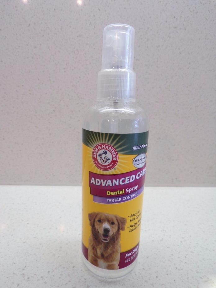 ARM & HAMMER NIP ADVANCED CARE DENTAL DOG  SPRAY TARTAR CONTROL 4 OZ