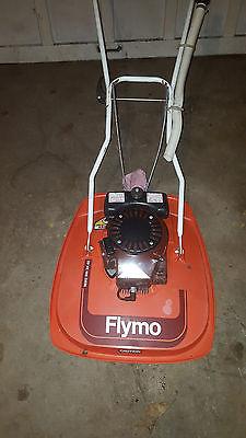 Flymo Hover Hovering Gas Lawnmower 3.5hp Tecumseh Motor + 2-Cycle Oil