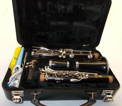 Yamaha 450 N Wood Clarinet W/Yamaha Hard Case & MPC~L@@ks Very Nice!