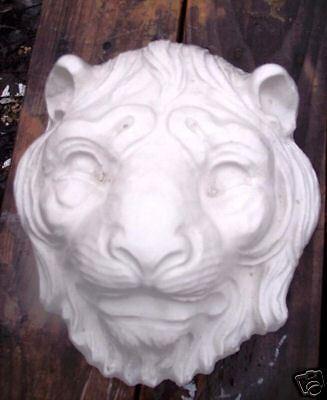 Plaster concrete LION tiger heavy duty plastic mold
