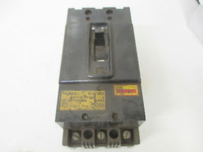 TRUMBULL ATB36020 CIRCUIT BREAKER 20A 3 POLE *USED*