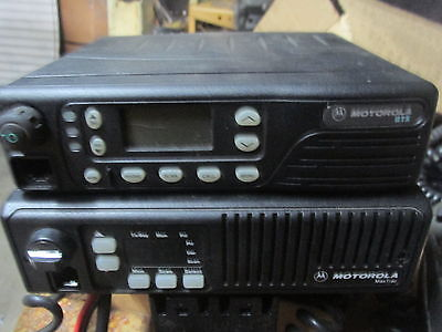 MOTOROLA RADIO MAX TRAC AND MOTOROLA RADIO GTX