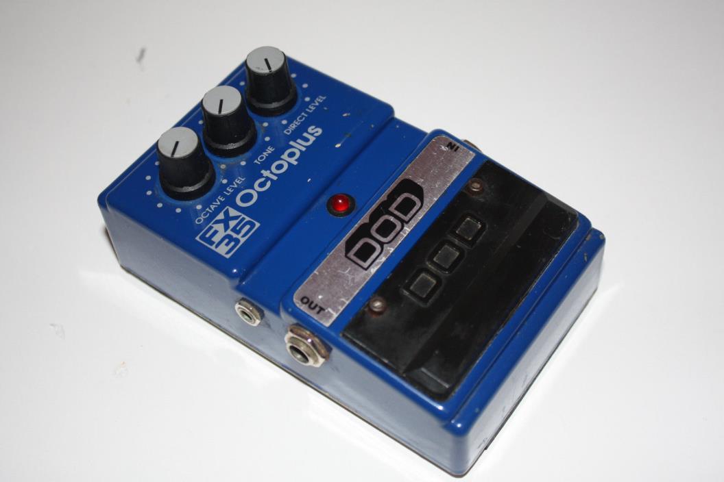 Rare DOD FX35 Octoplus Octaver Guitar Effect Pedal Vintage