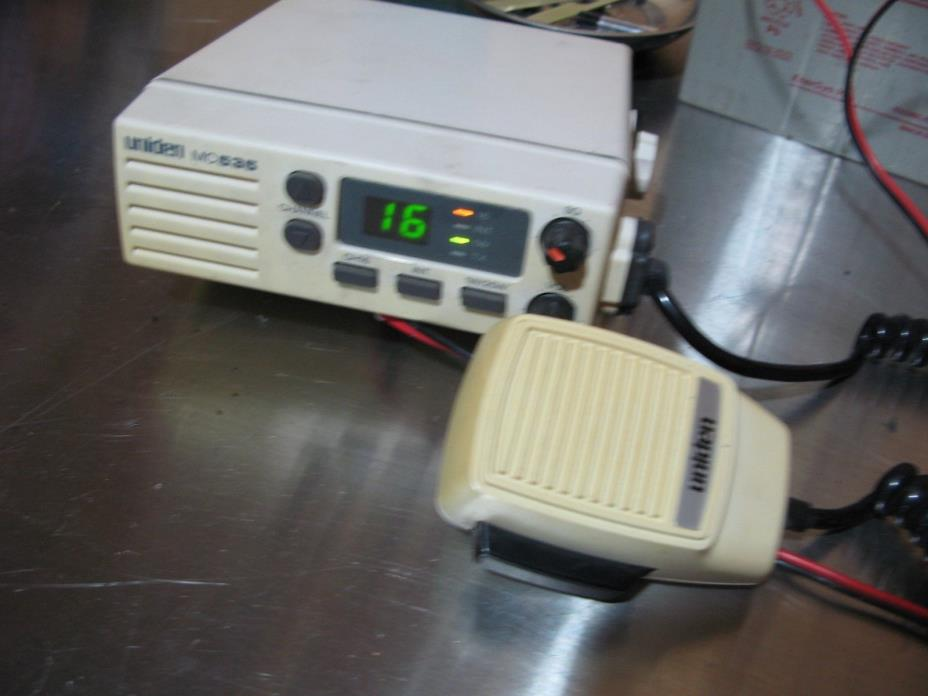 Uniden MC535 UHF Marine radio