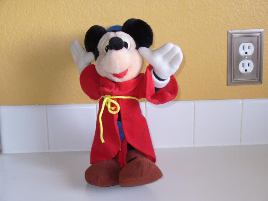 Mickey Mouse Fantasia wizard doll