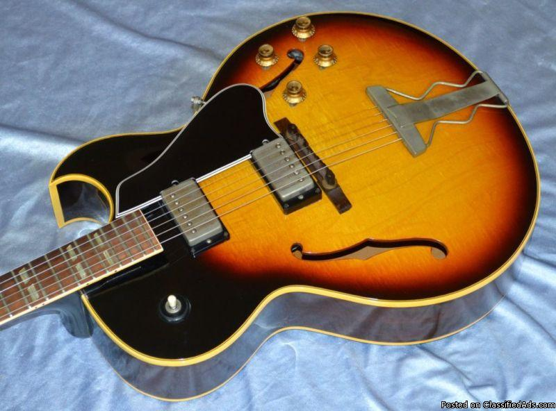 Vintage Original 1964 Gibson ES-175D Electric Guitar With OHSC
