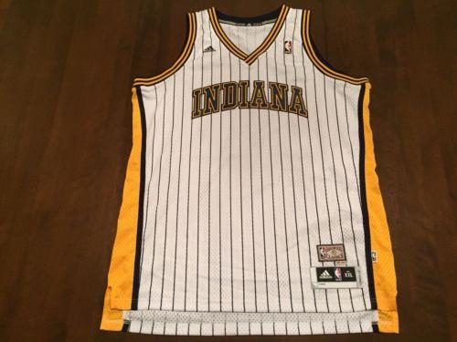 NBA Indiana Pacers Adidas Hardwood Classic Jersey (XXL)