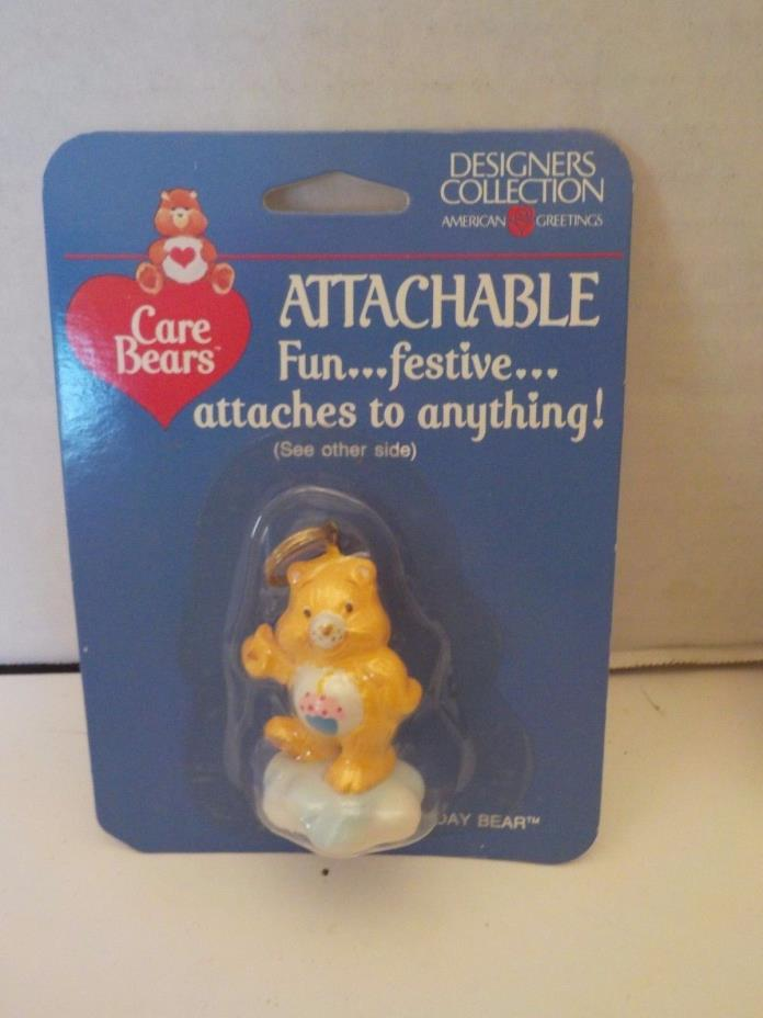 NEW CARE BEARS ATTACHABLE BIRTHDAY BEAR Designers Keychain American Greetings