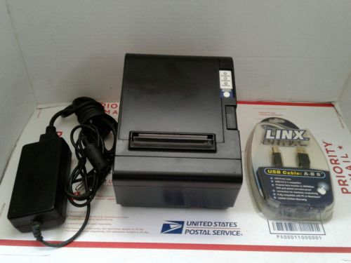 FC TM200 ULTRA-FAST RECEIPT PRINTER WITH USB CABLE & POWER ADAPTER+
