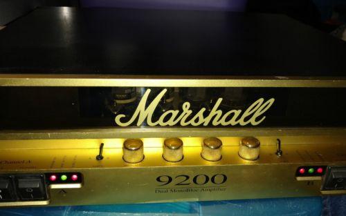 Used  Marshall 9200 Dual MonoBlock Power Amp