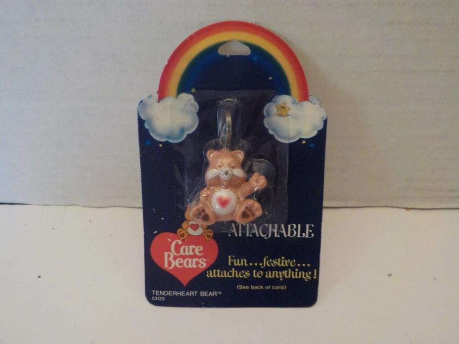 NEW CARE BEARS ATTACHABLE TENDERHEART BEAR Designers Keychain American Greetings
