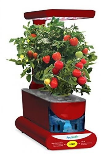 Herb Seed Pod Kit Red 10 Watt LED Lighting System Easily Usable Control Panel