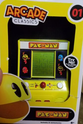 AUTHENTIC Pac-Man Mini Arcade Game Pacman Machine Vintage Nostalgia Classic Game