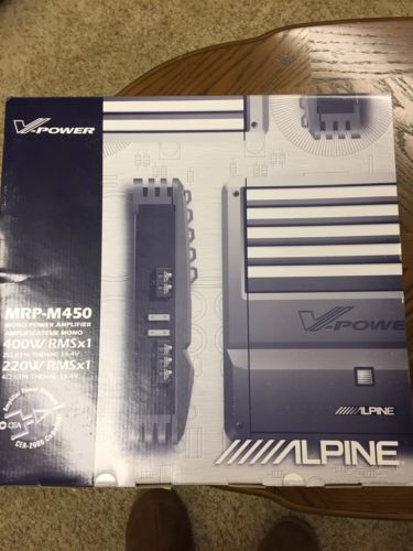 Alpine MRP-M450 1-Channel Car Amp