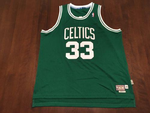 Larry Bird NBA Boston Celtics Adidas Hardwood Classic Jersey (XXL)
