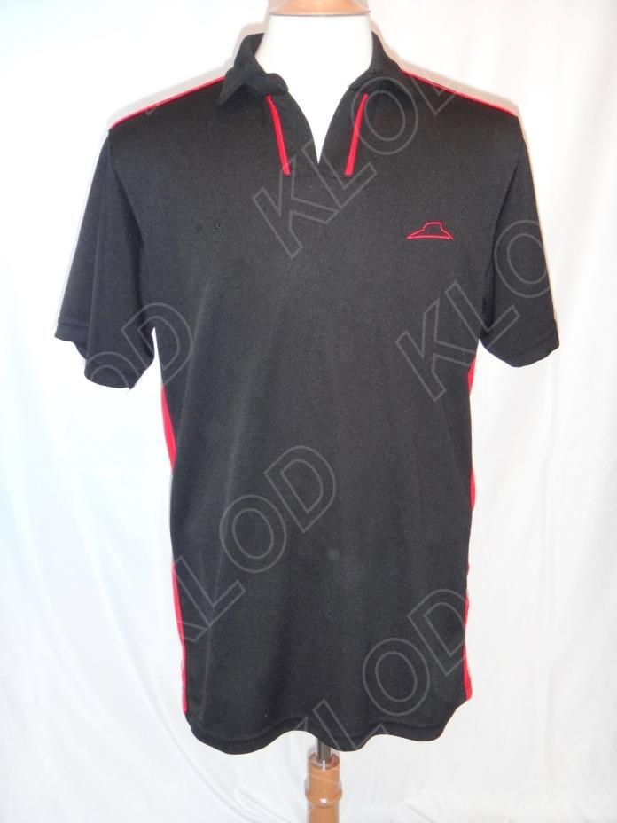 Pizza Hut Apparel Men's Black Polo Shirt size Small