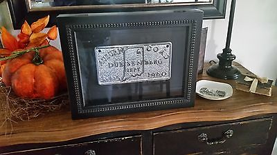 1960 Auburn Cord Duesenberg ACD Club Plaque Shadow Box Display