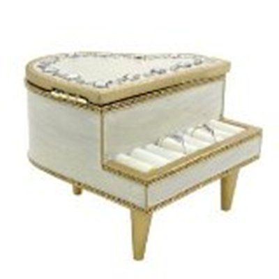 Piano Gems Jewelry Box Ring Holder