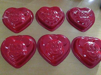 disney parks mickey mouse muffin cake 6 individual small pans
