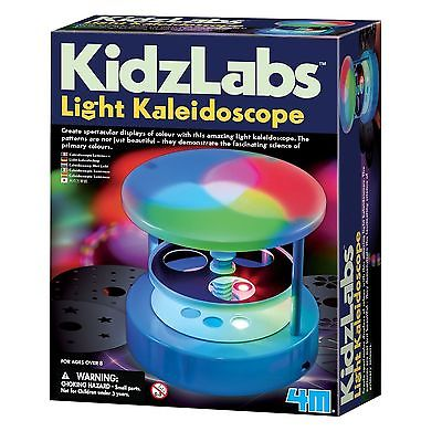 Light Kaleidoscope (4M) - Science Kit by Toysmith (4647)