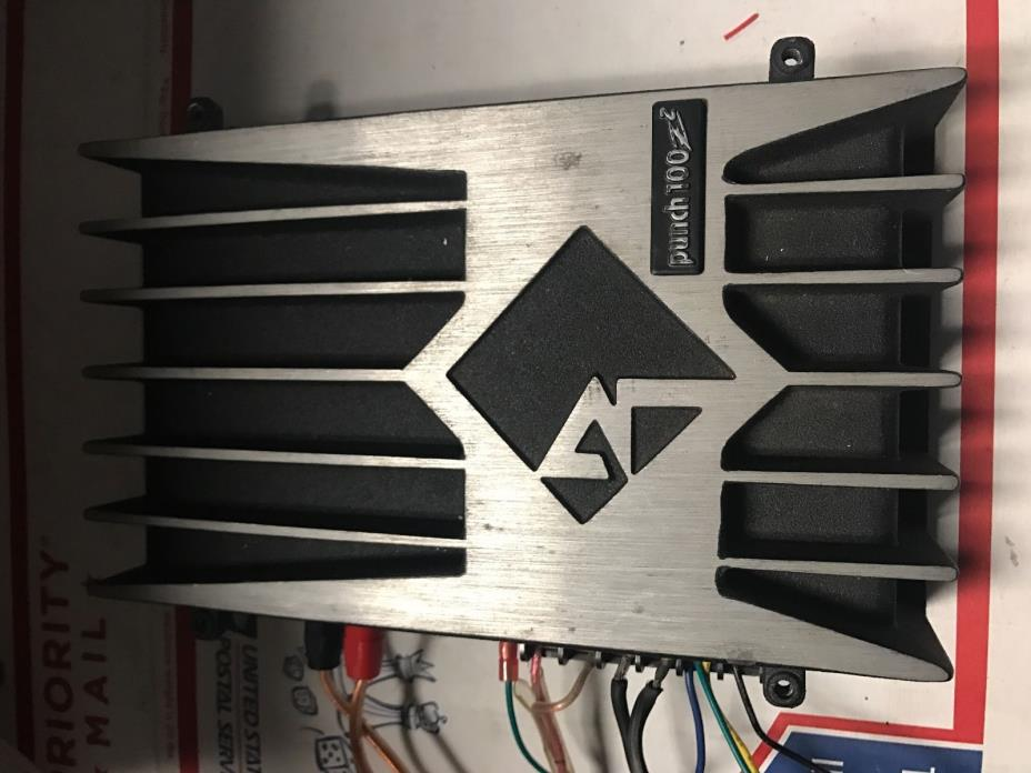 Old School Rockford Fosgate Punch 100z2 Amplifier