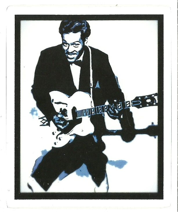 CHUCK BERRY ROCK AND ROLL Music Sticker Decal