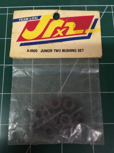VINTAGE TEAM LOSI JUNIOR TWO JUNIOR T BUSHING SET 2WD BUGGY TRUCK A-6920