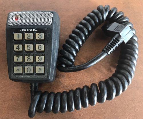 Vintage Astatic T2M-930 Keypad Microphone 5 Pin