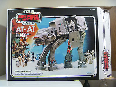 1981 Kenner AT AT Walker With Reproduction Box And Inserts