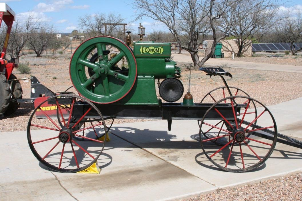 Antique Economy Hit and Miss Engine