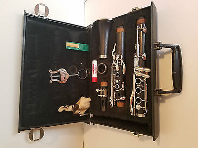 Normandy 4 Intermediate Level All Wood Refurbished Clarinet