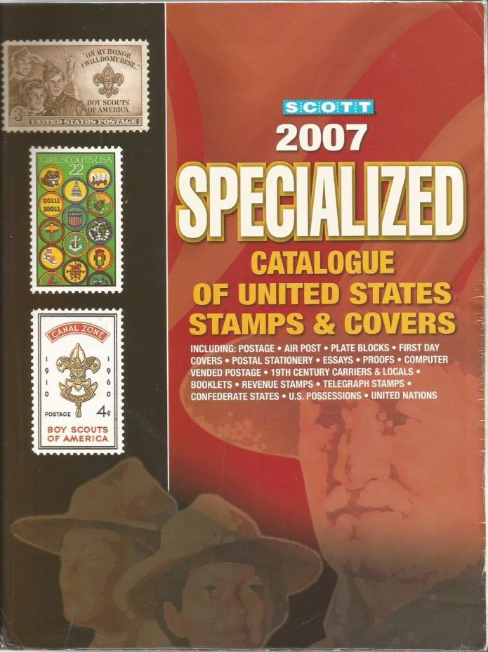 Used 2007 Scott Specialized Stamp Catalogue