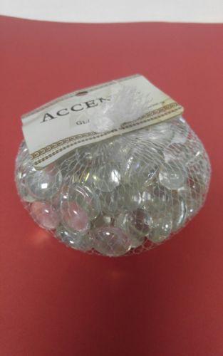 Clear Mini Glass Gems Mosaic Tiles, Tile Floral Vase Fillers