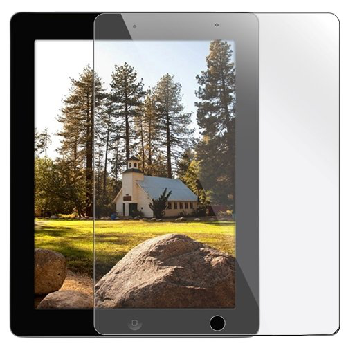 Importer520 Premium Screen Protector Film Clear (Invisible) for Apple iPad 2 and