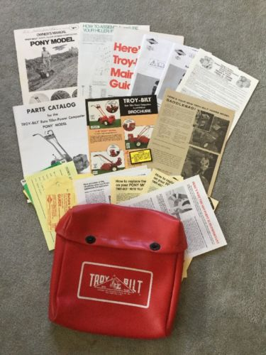troy bilt horse owners manual