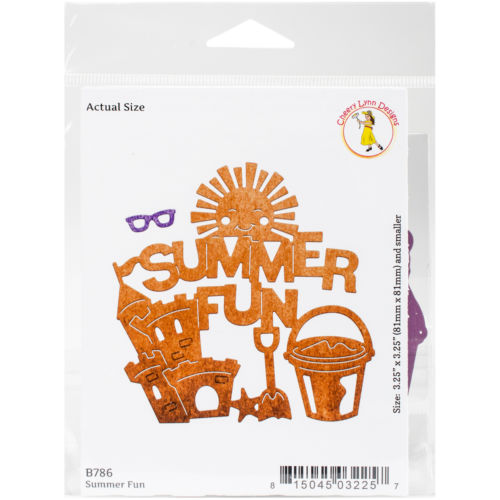 Cheery Lynn Designs CLB786  Die-Summer Fun, .25