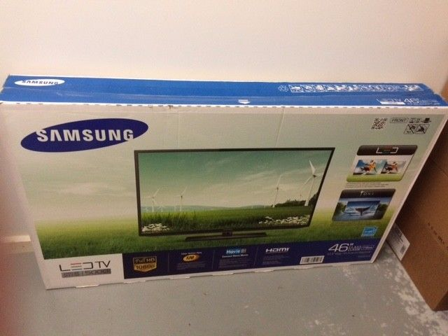 Samsung 46 Inch Flat Screen TV Series 5 LED Brand New in Box *LOCAL PICKUP ONLY*