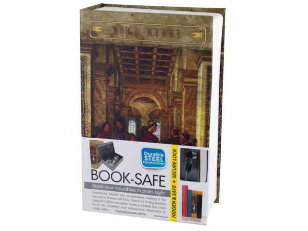 Small Hidden Bible Book Safe