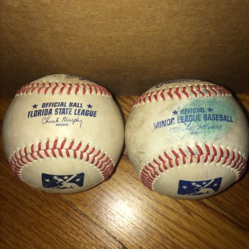 Rawlings Official MLB Florida State League Minor League Baseball Game Used 3