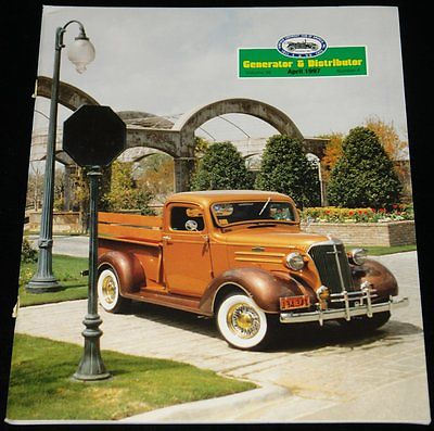 APRIL 1997 GENERATOR & DISTRIBUTER MAGAZINE 1936 CHEVY PICKUP