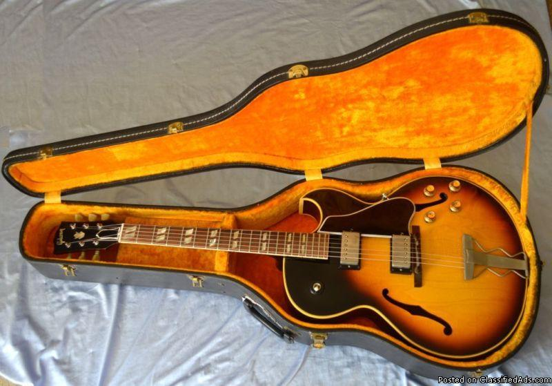 Vintage Original 1964 Gibson ES-175D Electric Guitar With OHSC