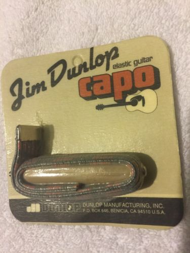 NEW - Dunlop Elastic Heavy Single Capo, #71S