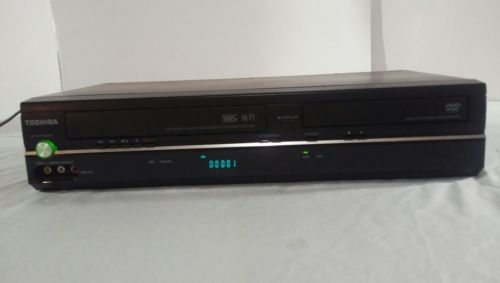 Toshiba DVD VCR Combo SD-V296-K-TU Video Cassette Recorder No Remote