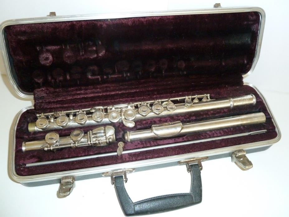 Selmer Signet Special Flute w/ Case Made With Coin Silver