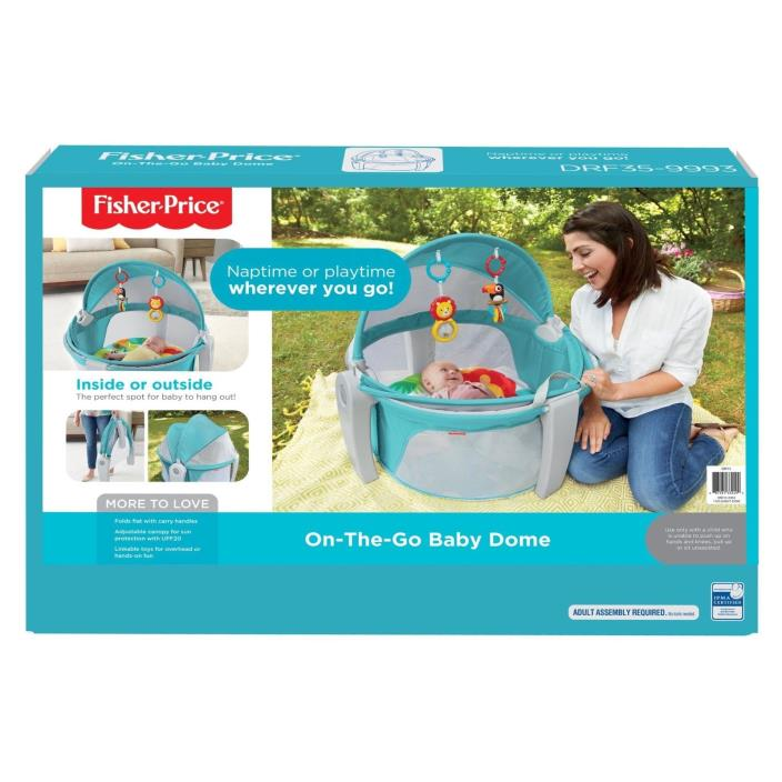 fisher price on the go baby dome manual