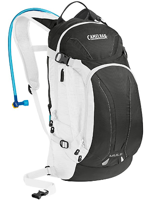 CamelBak Men's M.U.L.E. Hydration Pack 100 oz Charcoal/White