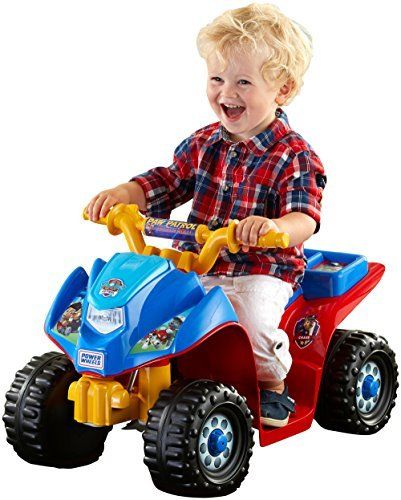 Jeep Power Wheel Toddler Paw Patrol Ride On Toy Boy Kid 4 Wheeler Bike Quad Car