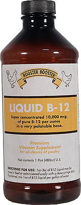 ROOSTER BOOSTER LIQUID VITAMIN B-12