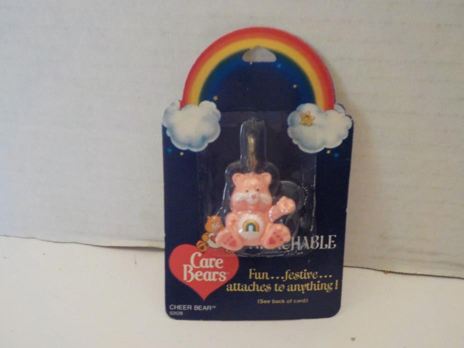 NEW CARE BEARS ATTACHABLE CHEER BEAR Designers Keychain American Greetings